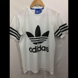 Adidas Mesh Logo shirt.
